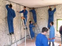 ремонт стен помещений Кострома